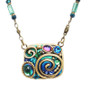 Blue Emerald necklace by Michal Golan Jewelry