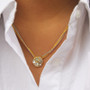 Gold Icicle necklaces by Michal Golan Jewelry
