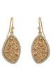 Gold Marcia Moran Jewelry Lilly Earrings