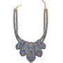 Michal Negrin Blue Spirited Necklace - Multi Color