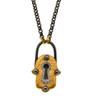 Lucky Talisman Lock Necklace by Nava Zahavi - New Arrival