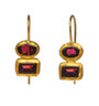 Double Dare Garnet Earrings by Nava Zahavi - New Arrival