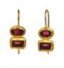 Double Dare Garnet Earrings by Nava Zahavi - New Arrival