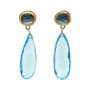 Blue Lagoon Earrings by Nava Zahavi - New Arrival
