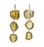 Green Tourmaline Earrings by Nava Zahavi - New Arrival