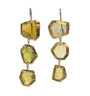 Green Tourmaline Earrings by Nava Zahavi - New Arrival