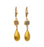 Heavenly Diamond and Gold Earrings - New Arrival