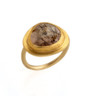 Magnificent Andalusite Gold Ring by Nava Zahavi - New Arrival