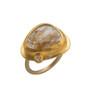 Love in a Mist Golden Ring by Nava Zahavi