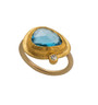 Lagoona Gold Ring by Nava Zahavi - New Arrival