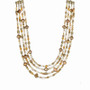 Michal Golan Citrine 4 Strand Necklace