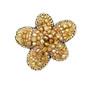 Michal Golan Citrine Floral Pin