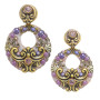 Michal Golan Michal Golan Lilac Open Circle Earrings