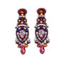 Ayala Bar Fire Burning Earrings - New Arrival