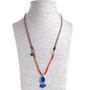 Nava Zahavi Silver Agat Twist Necklace