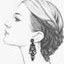 Ayala Bar Maui Rock Black Magic Earrings