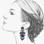 Ayala Bar Maui Rock Harlequin Earrings