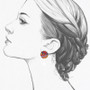 Ayala Bar Soul Voyage Cute as a Button Earrings