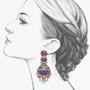 Ayala Bar Afro-Desia Funkytown Earrings