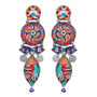 Ayala Bar Afro-Desia Swirly Girly Earrings