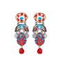 Ayala Bar Afro-Desia Beach Ball Earrings