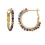 Michal Golan Harvest Moon Mini Hoop Earrings