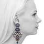 Ayala Bar Sapphire Waves Karma Earrings