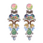 Ayala Bar Fiesta Green Brain Freeze Earrings