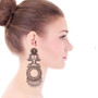Ayala Bar Indigo Arctic Wolf Earrings