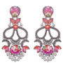 Ayala Bar Crimson Dreams Tulip Earrings
