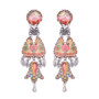 Ayala Bar Coral Cave Turkish Rug Earrings