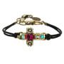 Michal Golan Aqua Cross Bracelet