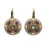 Michal Golan Amethyst Circle Earrings