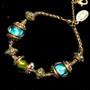 Michal Negrin Joy Charm Crystal Bracelet