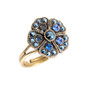 Michal Negrin Jade Flower Ring