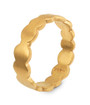 Joidart Pebbles Small Gold Ring Size 6