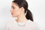Joidart Lacrima Small Teardrop Silver Earrings