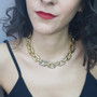 Anat Gold Sovereign Necklace