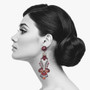 Ayala Bar Ruby Love Kiss Me Earrings