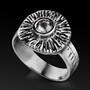 Ani Ledodi Silver Ring for Unconditional Love