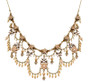 Michal Negrin Crystal Flower Necklace - One Left
