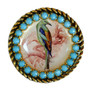 Iris Designs Bird Enamel Adjustable Ring