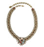Michal Negrin Classic Crystal Flower Necklace