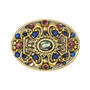 Michal Golan Jewelry Florence Oval Pin