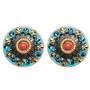 Michal Golan Jewelry Coral Sea Earrings - S7651P