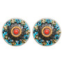 Gorgeous Coral Sea Earrings From Michal Golan Jewelry