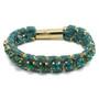 Anat Jewelry Ella Teal  Turq. Green Bracelet