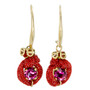 Anat Collection Earrings Really Red Shabby Chic