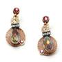Anat Jewelry Fiesta Fashion Net Red powder Earrings