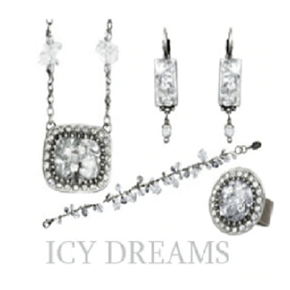 NEW MICHAL GOLAN ARRIVALS - Icy Dreams Collection available at Setty Gallery